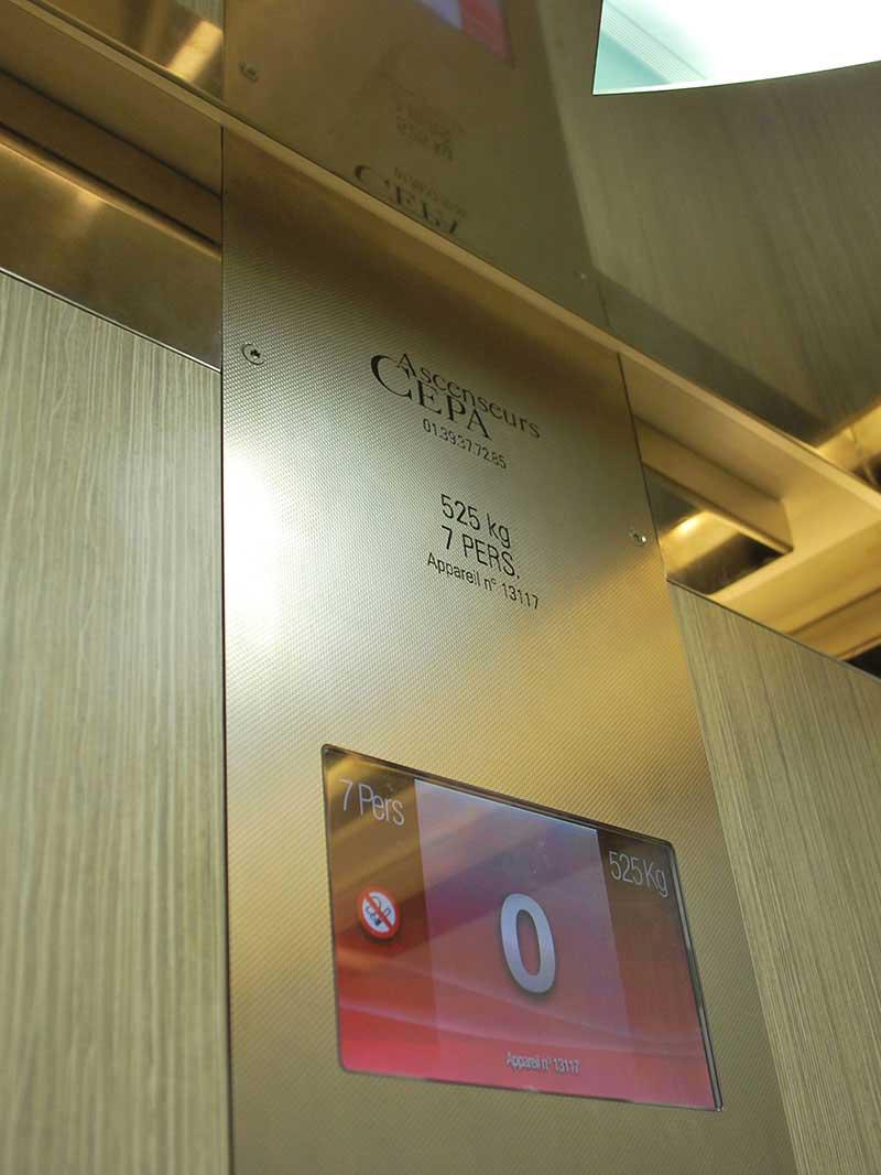 ascenseur bureaux