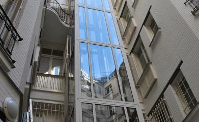 Remplacement complet d'un ascenseur extérieur image 3